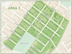 Earlewood Safety Zones - Area 1