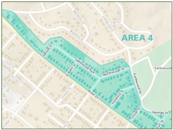 Earlewood Safety Zones - Area 4