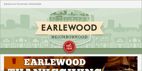 Earlewood eNewsletter - November 2013